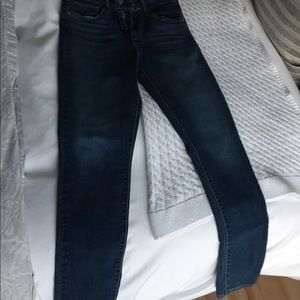 Levi's 721 high rise skinny jeans.